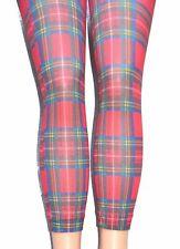 Scottish Tartan Opaque Pant Pamela Mann Jackson Plaid Tartan Petrol Blue Tights