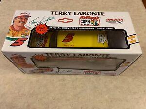 "Terry Labonte NASCAR ""Kellogg's"" Suburban Diecast Bank Model MIB"