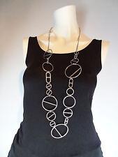 Authentic Hermes Silver 925 ' Farandole ' Long  Necklace