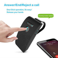 Wireless bluetooth 4.2 Car Kit Handsfree Receiver Speaker Phone MP3 Sun Visor