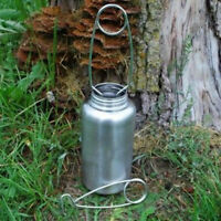Stainless Leak Proof Water Bottle Cup//Pot Kettle With Mouth Spreader Hanger