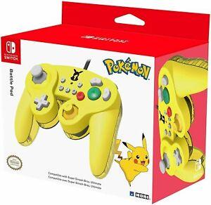 Pokemon Super Smash Bros Ultimate Battle Pad Pro Nintendo Switch Controller Hori
