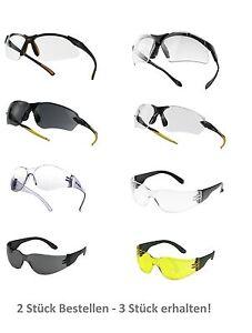 3 für 2 - Sportbrille - Radbrille - sportliche Schutzbrille - Fahrradbrille