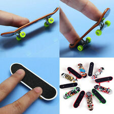 2PC Kid Adult Funny Mini Finger Board Toy Tech Deck Skate Skateboard Miniature