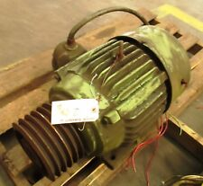 EMERSON / US MOTORS  15HP  3PH  1775 RPM 254  TE     USED - RECONDITIONED
