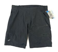 New FOX HEAD Baseline Shorts MTB Riding Cycling Padded Cross Country Sz 38