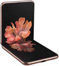 Samsung Galaxy Z Flip 5G - SM-F707W/DS - 256GB Mystic Bronze Brand New in Box