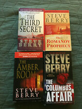 STEVE BERRY 4 book SET in STAND ALONE NOVELS  Paperback lot.
