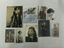 VINTAGE: lot de photos + cartes postales ( portraits )
