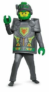 Disguise Child's Aaron Deluxe Nexo Knights Lego Costume Large/10-12