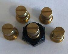 TeeJet TK2 Floodjet Spray Tip Brass Set Lot of 5 with Free Caps