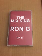 DJ RON G Mixes #1 CLASSIC HARLEM NYC 90s Cassette R&B Hip Hop Mix Mixtape Tape