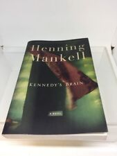Henning Mankell Kennedy's Brain Advance Reading Copy Ex Library Book