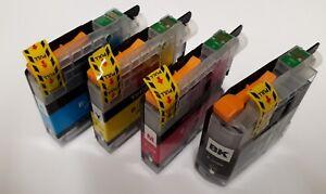 LC223 Black, Colours, Non-OEM, Fits Brother MFC-J4420DW, DCP-J4120DW, MFC-J480DW
