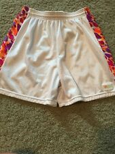 New listing Girl's Lacrosse Lax Shorts Punk Wear White Size M