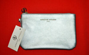 Adrienne Vittadini Toiletry Travel Bag Zipper Cover Pouch Wallet Cosmetic Case
