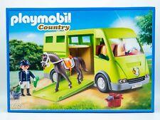 PLAYMOBIL Country Pferdetransporter (6928) NEU OVP Reiterhof Pferde Transporter