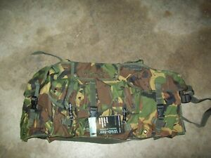 Woodland Camo Chest Pouch 6 Pockets