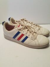 Adidas Vs Advantage Red White Blue Size 12 F99255 Casual Shoes