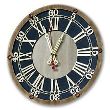 Trinity College Cambridge UK handcrafted wooden large wall clock, personalized