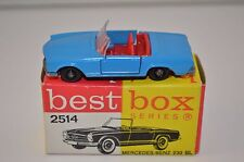 Bestbox Best Box 2514 Mercedes Benz 230 near mint in box very scarce colour
