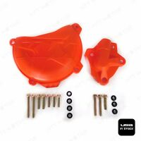 Water Pump + Engine Clutch Case Cover Guard For KTM 250 350 SXF EXCF SIX DAYS
