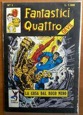 FANTASTICI QUATTRO 4 N. 1 STAR COMICS OTTOBRE 1988 ANNO I - OTTIMO  ----B2
