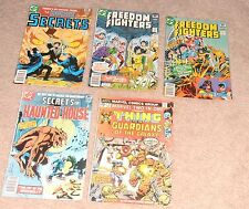 18- Comic Book Lot 25 30 & 35 cents The Defenders Freedom Fighters Plus