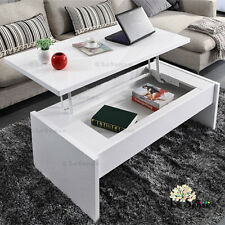 New stock  High Gloss White Modern Multifunction Lift Top Coffee Table w/storage