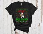 Merry Bullmas Ugly Christmas Funny Sweater Santa Bulldog Dog Family Shirt, Mug