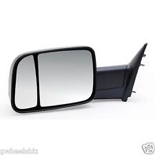 2010 2011 2012 DODGE RAM 2500 / 3500 MANUAL TOW SIDE MIRROR DRIVER/ LEFT SIDE
