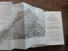 EBEL. MANUEL DU VOYAGEUR EN SUISSE.2nde édition.ZURICH.1810. 5 planches T.I &II