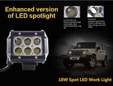 "4"" 18W White LED Work Flood Light Bar 4WD Offroad Spot ATV SUV Fog Driving Lamp"