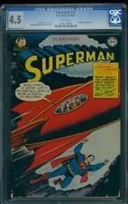 Superman 72 CGC 4.5 WP Golden Age Comic - Early Superman Appearance Issue L@@K