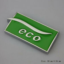 E837 ECO Emblem Badge auto aufkleber car Sticker metall
