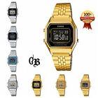 Casio Women's Digital watch Silver/Gold Tone Stainless Steel LA680WGA-1A/1B/9B