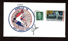JIM IRWIN SIGNED POSTAL COVER AUTOGRAPHED NASA