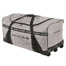 "Vaughn 9400 Ice Hockey Goalie Three Wheeled Bag Senior 43"" Gray"