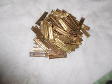10 original brass 8mm mauser stripper clips 8x57 cal 7.92 x57 california legal