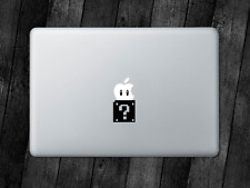 Mario Sticker One UP Box Decal Apple MacBook Mac iPad Laptop Car Window