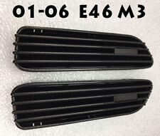 CARBON DIPPING FENDER SIDE GRILLES REPLACEMENT STICKER GRILLE FOR 01-06 E46 M3