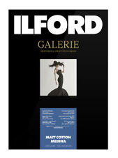 Ilford Galerie Matt Cotton Medina 320gsm Fine Art Inkjet Paper A4 25 Sheets