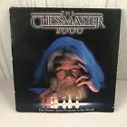 "Vtg Chessmaster 2000 Software Toolwork Computer Game Ibm Pc 5.25"" Floppy Wizard"