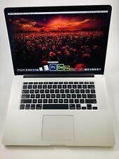 "Mid 2015 15"" Apple MacBook Pro Retina  i7 2.5 ghz 16 gb 512 photoshop adobe cs6"