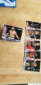2020 UfC Topps Complete Set Of 100  Cards.