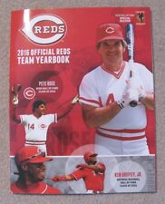 CINCINNATI REDS 2016 Yearbook Pete Rose / Ken Griffey Jr. Cover NEW