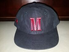 Vintage marlboro trucker cap hat with red embroidered logo and bucking bronco