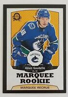 ADAM GAUDETTE O-PEE-CHEE MARQUEE ROOKIE RETRO BLACK 26/100 #510 SP UD SERIES 2
