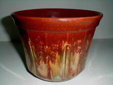 Medalta Pottery Alberta Canada Blended Drip Glaze Flower Pot/Jardiniere