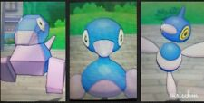 Pokemon all 3 shiny Porygon evolutions level 100 6IVs ultra sun moon DS trade